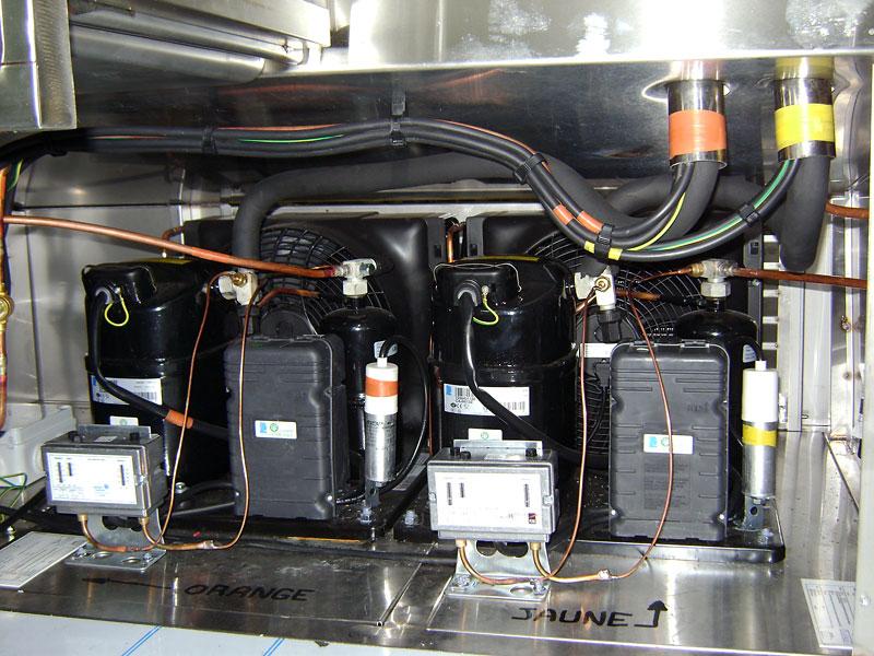 equipement refrigeree inox